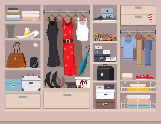 Tips Οργάνωση ντουλάπας, διαλεξε ρουχα που σε κανουν να νιώθεις ομορφα