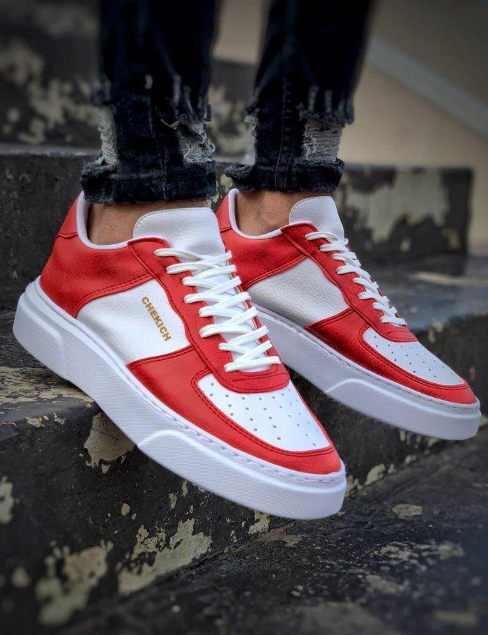 90's sneakers με λευκές γραμμές