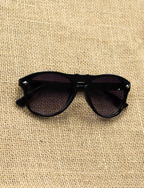 Ανδρικά μαύρα ντεγκραντέ γυαλιά ηλίου Luxury S5037D