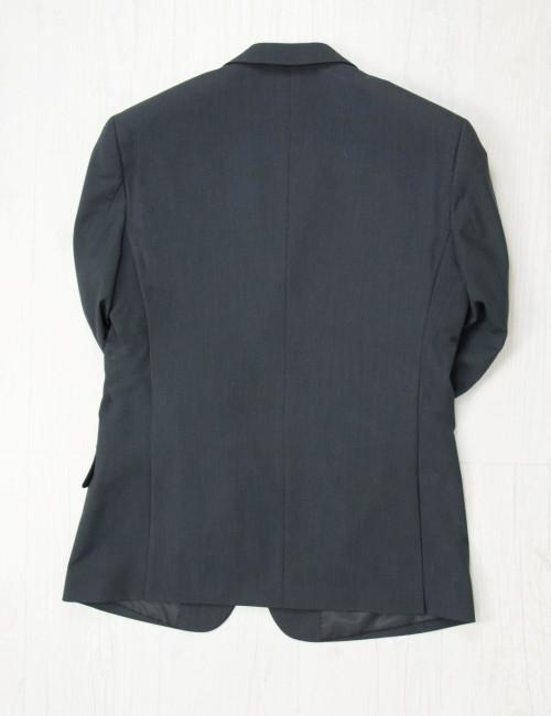Aνδρικό μαύρο σακάκι λευκές ρίγες 4126