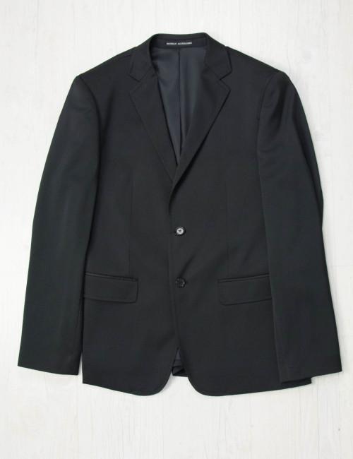 Ανδρικό μαύρο σακάκι γυαλιστερό 4036