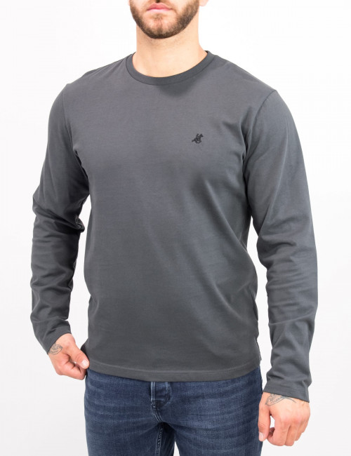 Us Grand Polo ανδρική γκρι μπλούζα UST160A
