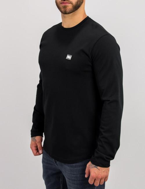 NDC ανδρική μαύρη μακρυμάνικη μπλούζα 221137