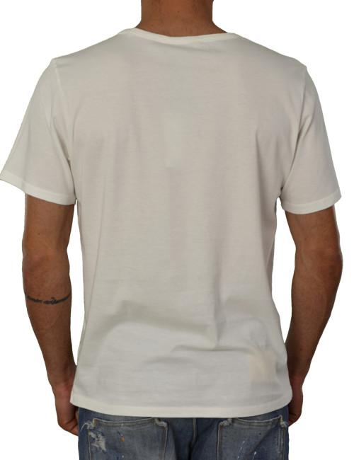 Ανδρικό t-shirt Lee λευκό L60QEPRR