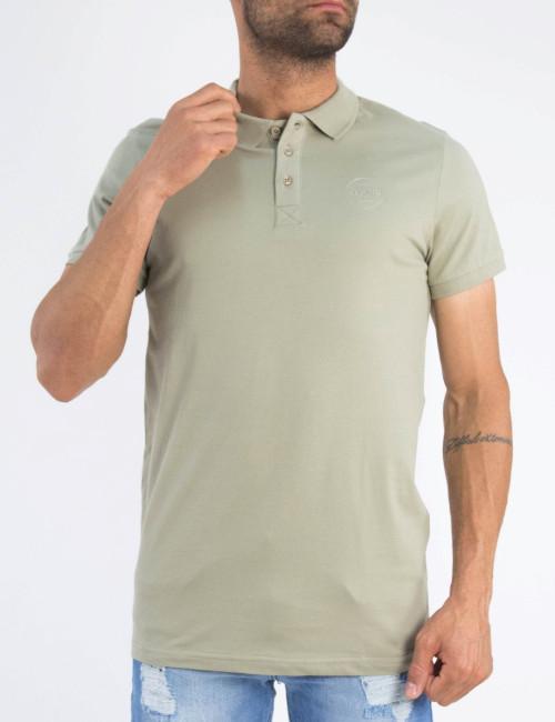 Ανδρική πούρο βαμβακερή κοντομάνικη μπλούζα Polo 5360P