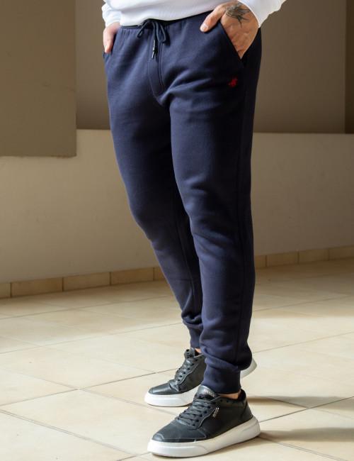 Us Grand Polo ανδρικό μπλε παντελόνι φόρμας USL180
