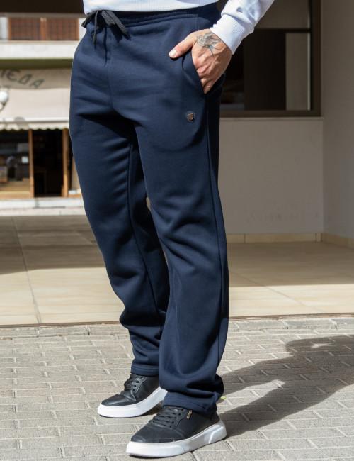 Everbest ανδρικό μπλε παντελόνι φόρμας 221012K