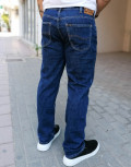 Lee Brooklyn Straight ανδρικό σκούρο μπλε τζιν παντελόνι L452PX46