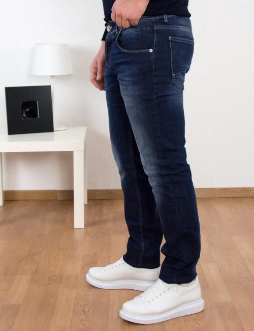 Ανδρικό μπλε τζιν παντελόνι Trial MarvinA 20B
