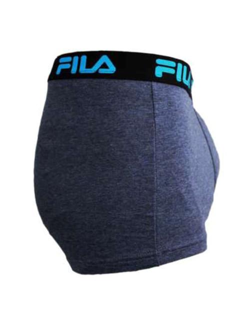 Ανδρικό μπλε ραφ μποξεράκι FILA λάστιχο FU5027R