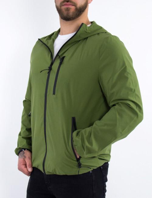 Ανδρικό χακί Jacket με τσέπες ZMG8163Q