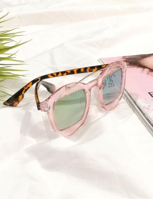 Γυναικεία γυαλιά ηλίου cat eye μπρονζέ Luxury S1367