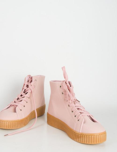 Ροζ creepers μποτάκι AM1103