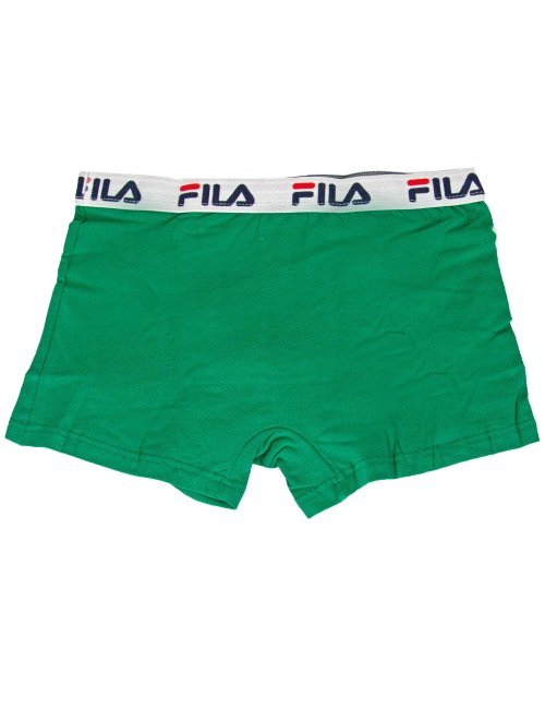 Ανδρικό πράσινο μποξεράκι FILA λάστιχο FU5016G