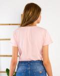 Lipsy γυναικεία ροζ μπλούζα με τύπωμα 1210065