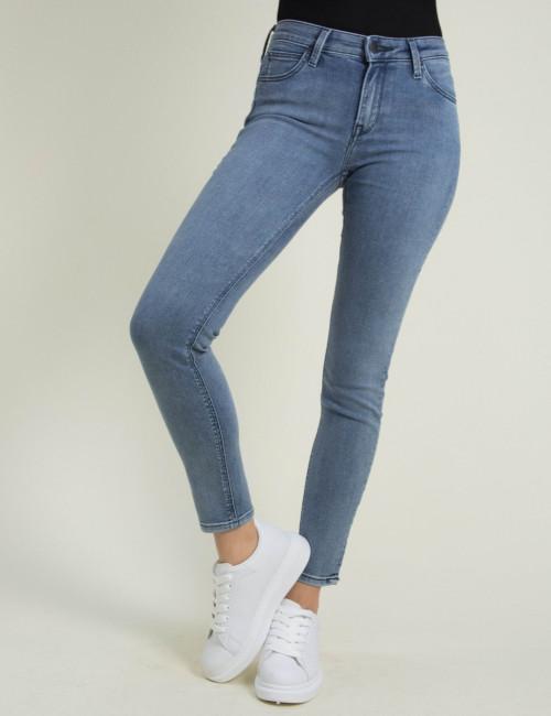 Γυναικείο μπλε τζιν παντελόνι Scarlett Skinny L526LSPS