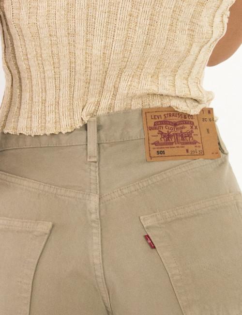 Γυναικείο Vintage σορτς Levis μπεζ 5016937