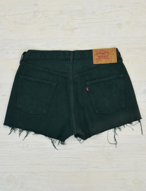 Γυναικείο ψηλόμεσο Vintage σορτς Levis πράσινο 5010199